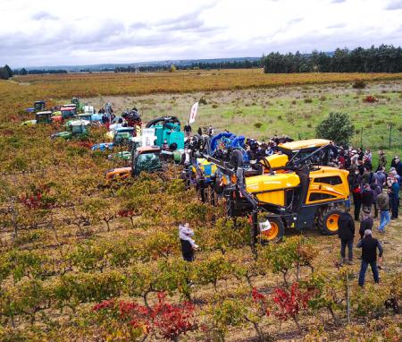 Démonstration de nouveaux matériels de pulvérisation au Lycée Agricole Privé Meynes – Gard